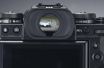Fujifilm X-T3 hledáček