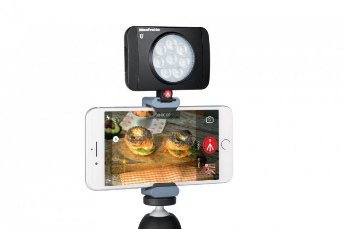 Manfrotto Lumimuse 8 LED s Bluetooth
