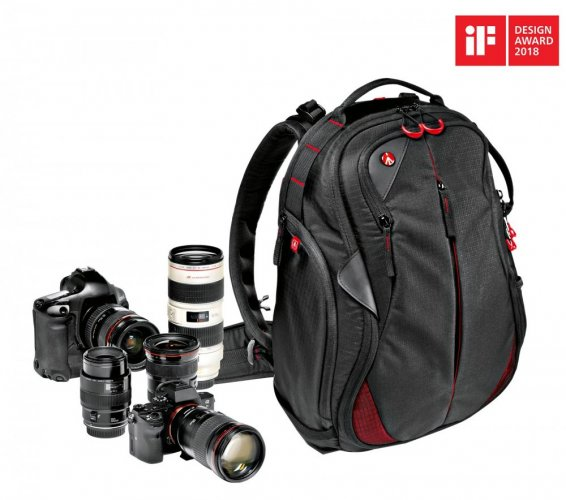 Manfrotto Pro Light camera backpack Bumblebee-130