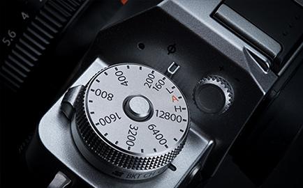 Fujifilm X-T3 Kruhový volič
